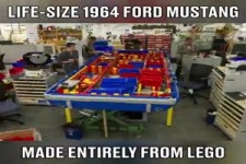 Lego-Ford Mustang 1964